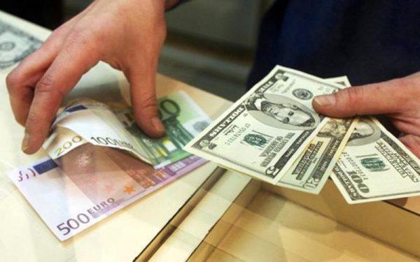 کاهش نرخ یورو و ۱۸ ارز دیگر