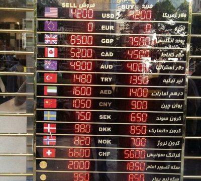کاهش شدید قیمت دلار و سکه