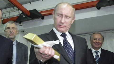 ذخایر ارزی روسیه به ۴۷۵ میلیارد دلار افزایش یافت