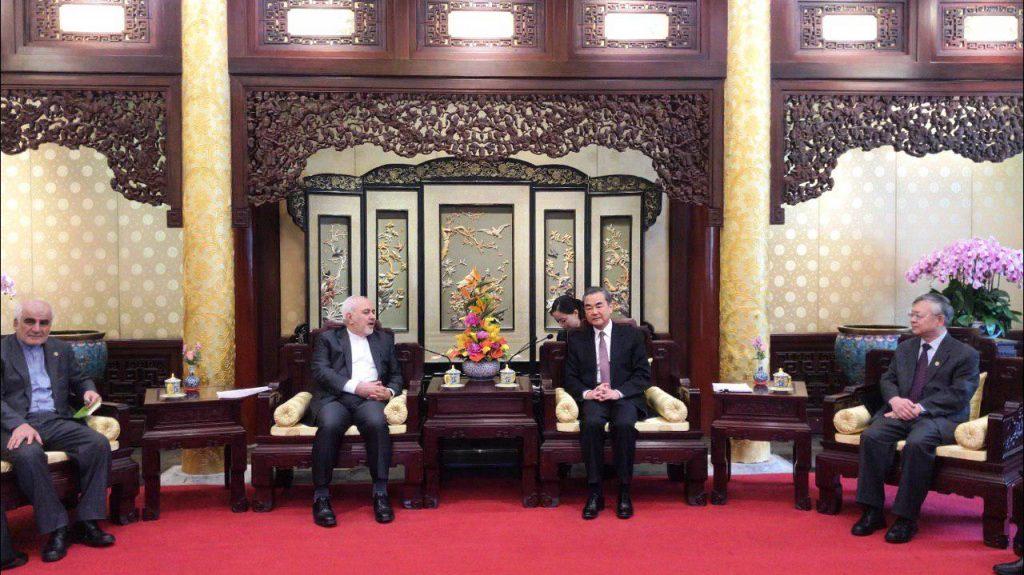 ظریف: ایران مهمترین رابطه راهبردی جهان را با چین دارد