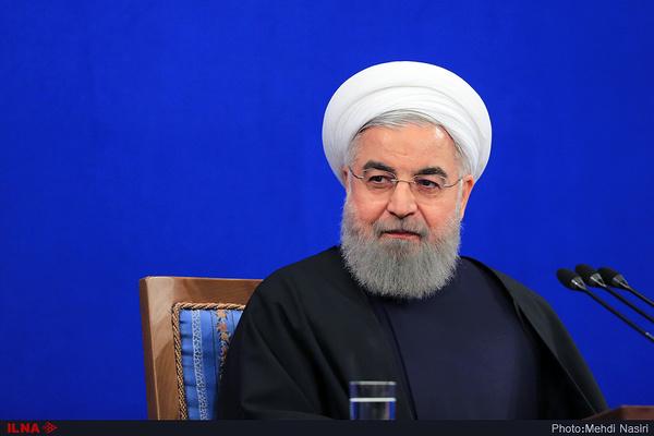 روحانی: آمریکا به اهداف خود نمیرسد / تحریم آمریکا علیه ایران جنایت علیه بشریت است