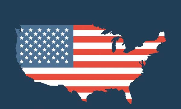 تولید ناخالص داخلی ایالتهای مختلف امریکا در مقایسه با کشورهای جهان