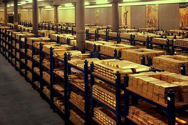 پنج بانک بزرگ مرکزی جهان به لحاظ ذخایر طلا معرفی شدند