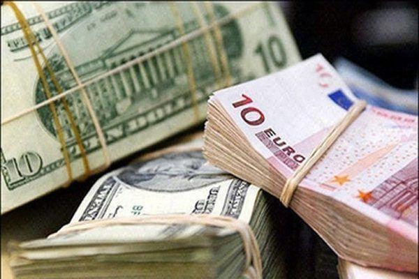 قیمت دلار و یورو صرافی ملی ۹۸/۲/۳۱