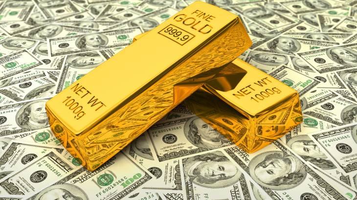 ختم انقباض پولی آمریکا بهسود طلا