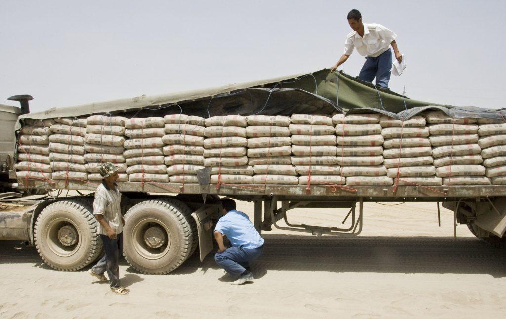 """صادرات """"سیمان قاین"""" به پاکستان و افغانستان"""