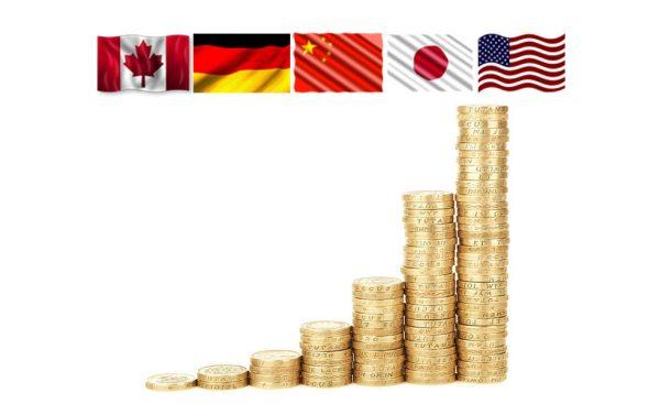 ۲۰ اقتصاد اول جهان در سال ۲۰۱۹
