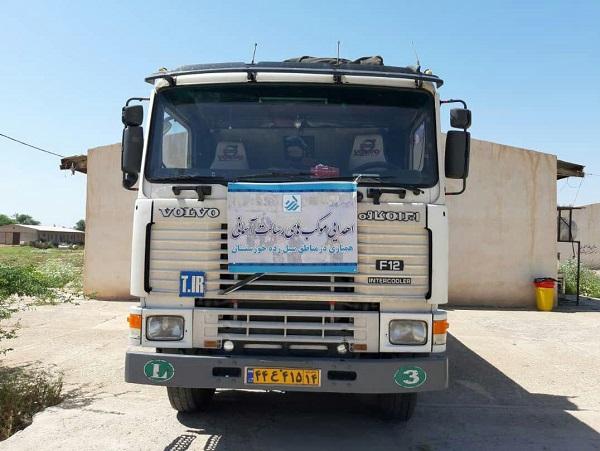 ارسال ۱۳ محموله کمکهای شبکه توسعه اجتماعی رسالت به مناطق سیل زده