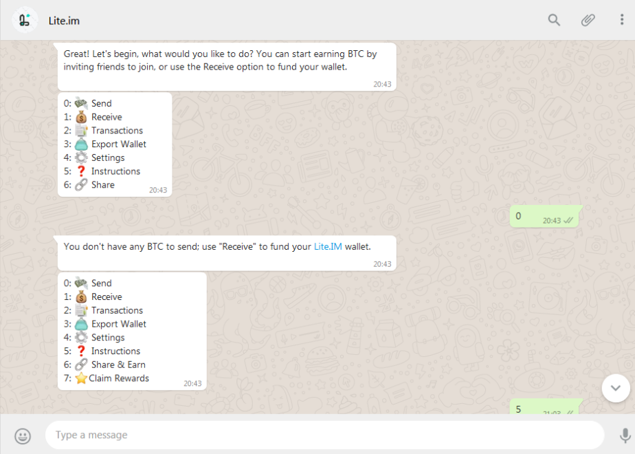 امکان ارسال ارزهای دیجیتال در واتساپ فراهم شد