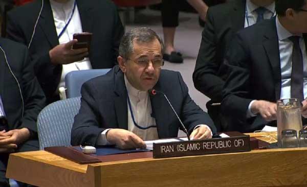 ایران از آمریکا خواست به حضور غیرقانونی خود در سوریه پایان دهد