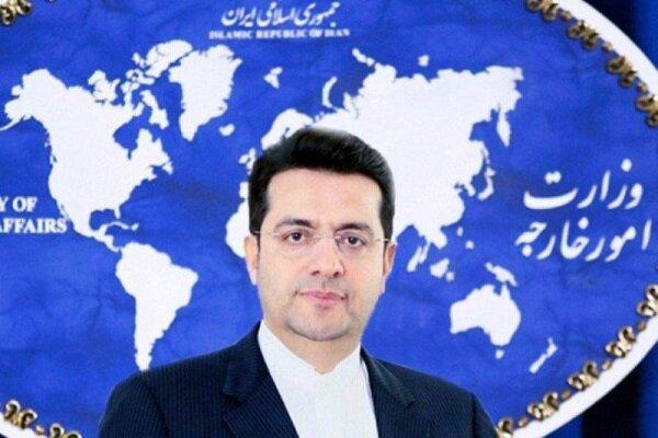 واکنش سخنگوی وزارت خارجه به تحریم «رهبری» و «ظریف» از سوی آمریکا