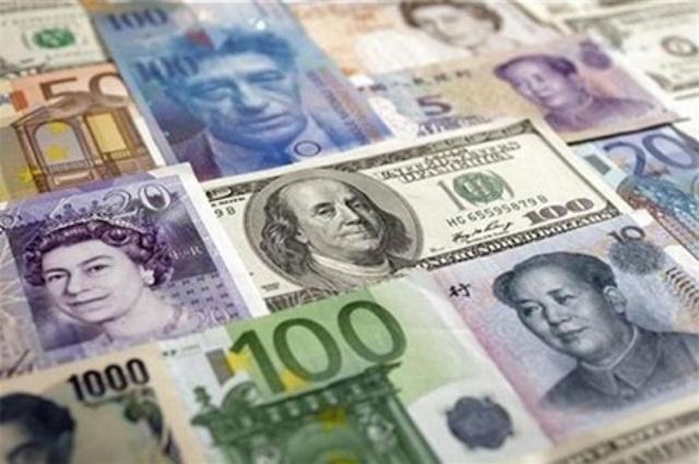 کاهش نرخ رسمی یورو و افزاریش قیمت پوند