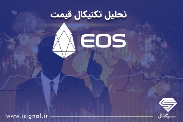 تحلیل تکنیکال قیمت EOS به همراه نمودار (22 خرداد 98)