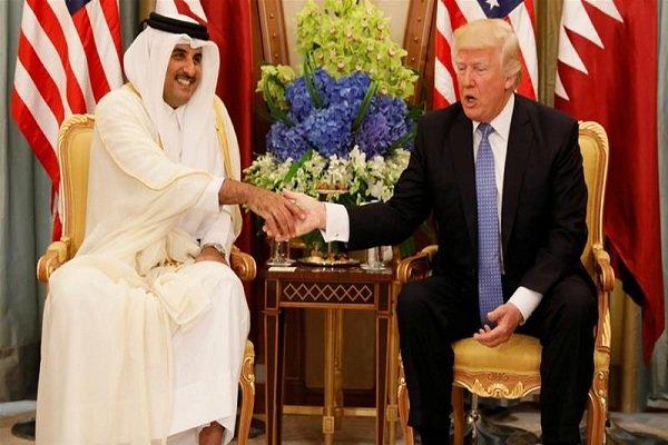 امیر قطر سهشنبه با ترامپ دیدار میکند