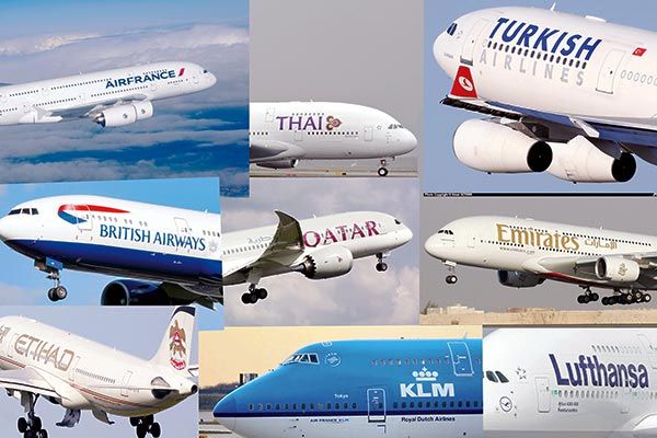 بازگشت ایرلاین های خارجی با عبور روزانه ۸۴۰ پرواز از اسمان ایران