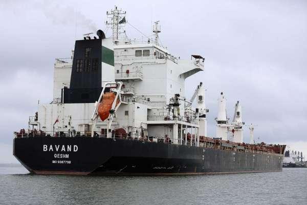 کشتی «باوند» سرانجام برزیل را به مقصد ایران ترک کرد