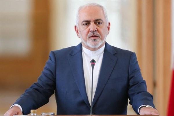 ظریف:تحریم شدن به جرم دفاع از مردم دلاور ایران برای من بزرگترین افتخار است
