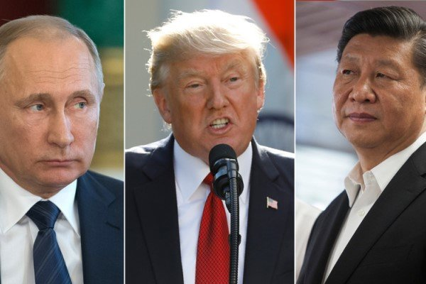 ترامپ: روسیه و چین باید در توافق موشک های هسته ای جدید باشند