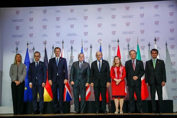تلگراف: G7 از هر زمان دیگر در تاریخ ۴۵ سالهاش پرتفرقهتر است