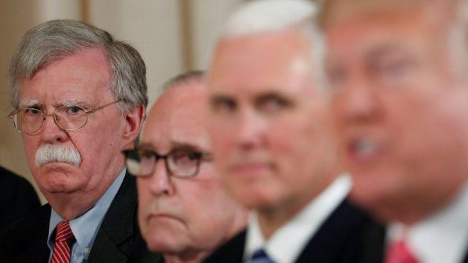 حمله شدید بولتون به سیاست خارجی ترامپ