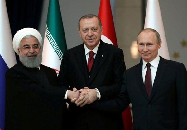 حلوفصل اوضاع سیاسی در سوریه؛ موضوع نشست سران روسیه-ایران-ترکیه در آنکارا