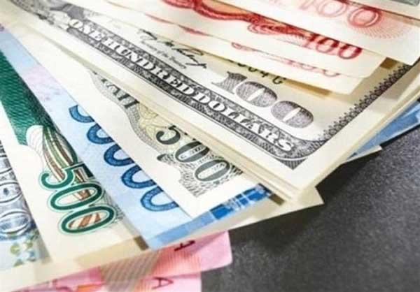 قیمت روز ارزهای دولتی 98/06/11| نرخ 23 ارز نزولی شد