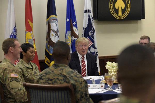 ترامپ با طرح ارتش آمریکا برای حمله به ایران مخالفت کرد