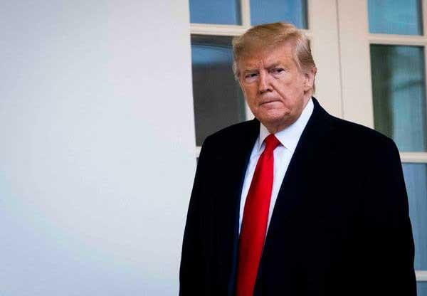 ترامپ در نامهای خشمآلود رای قریبالوقوع استیضاح را محکوم کرد