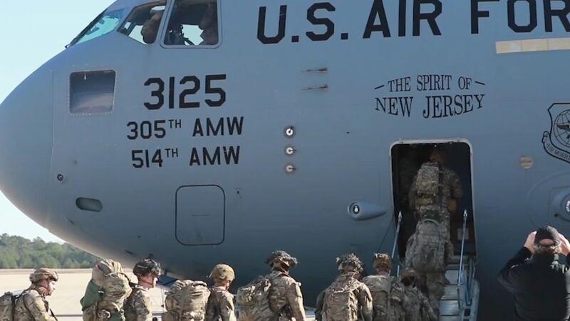 ان بی سی نیوز: آمریکا ۳۵۰۰ نیروی نظامی به منطقه اعزام می کند