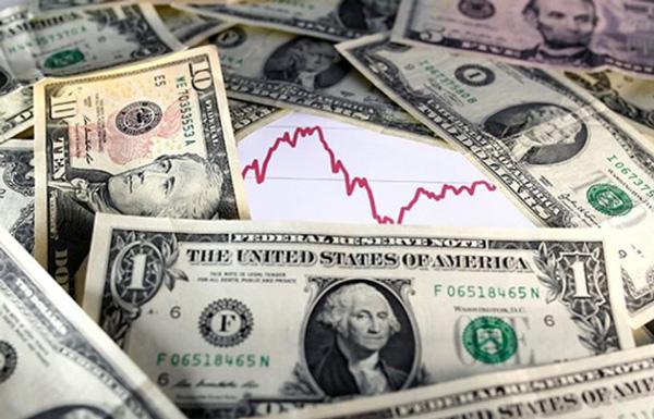 رشد شاخص دلار پس از مداخله بانک مرکزی چین / طلا یک درصد افت کرد