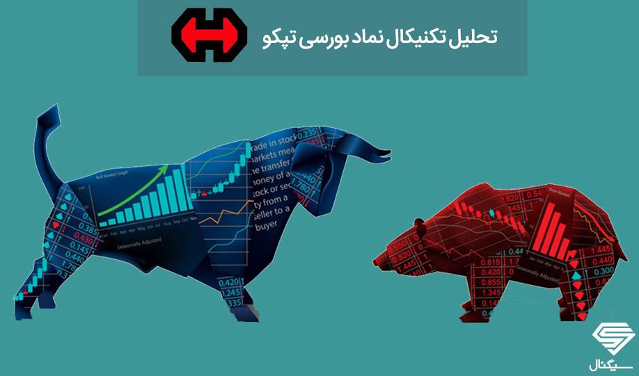 بروز رسانی تحلیل تکنیکال تپکو به همراه نمودار (13 بهمن ماه 98)