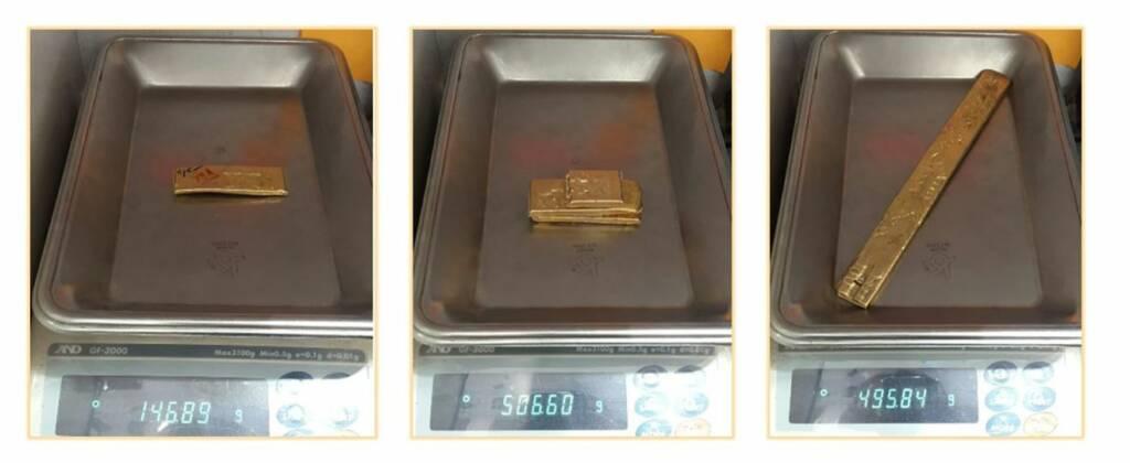 عیار و وزن طلای آب شده را چگونه و کجا مینویسند؟