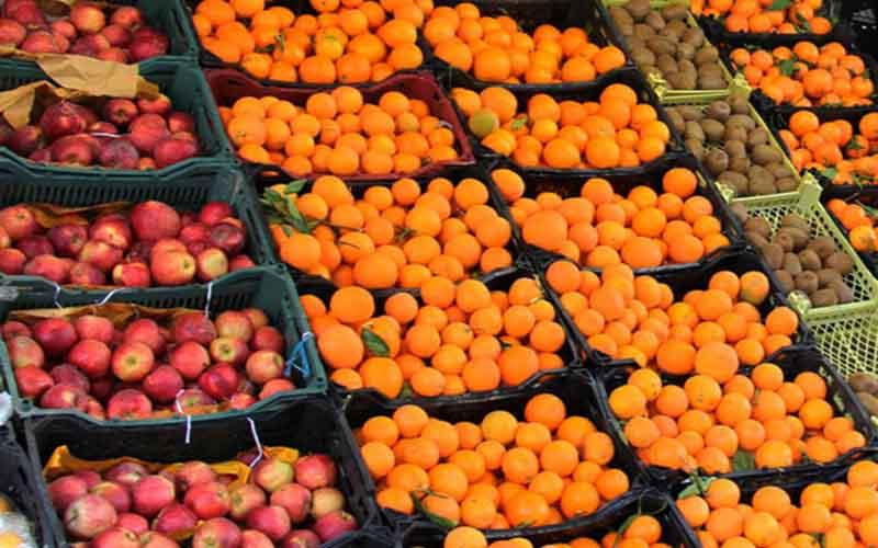 توزیع سیب و پرتقال تنظیم بازاری از فردا