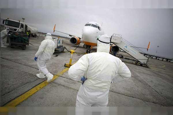 ویدئو   ضربه ویروس کرونا به سیستم حمل و نقل هوایی