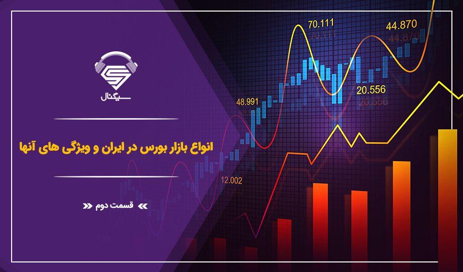 فصل دوم _ قسمت سوم : معرفی انواع بازار بورس در ایران