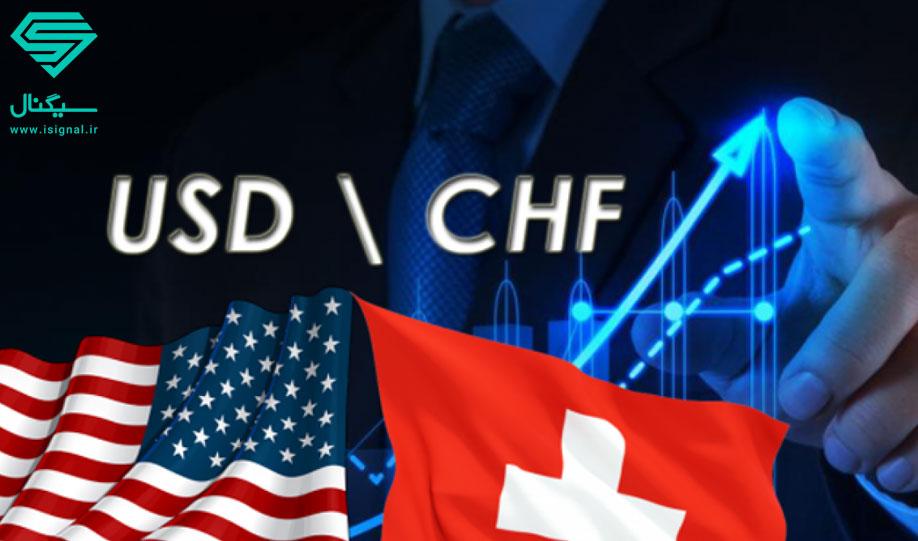 بررسی تکنیکال میزان تغییرات ارزش دلار به فرانک سوئیس (USDCHF) | تاریخ 4 مرداد ماه 1399