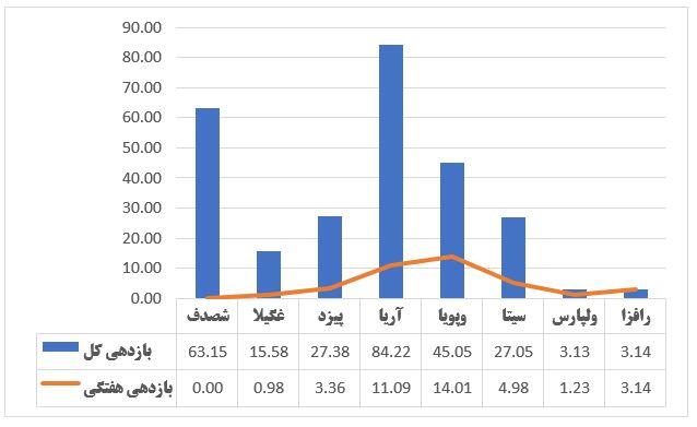 گزارش وضعیت عرضه اولیه ها در هفته ای که گذشت (هفته پایانی تیر 1399)