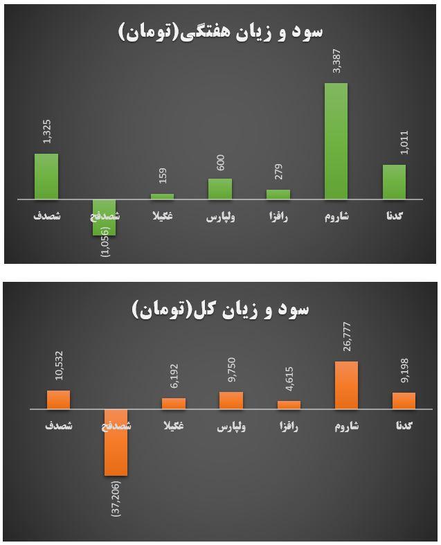 گزارش وضعیت عرضه اولیه ها در هفته ای که گذشت (هفته اول آبان ماه 1399)
