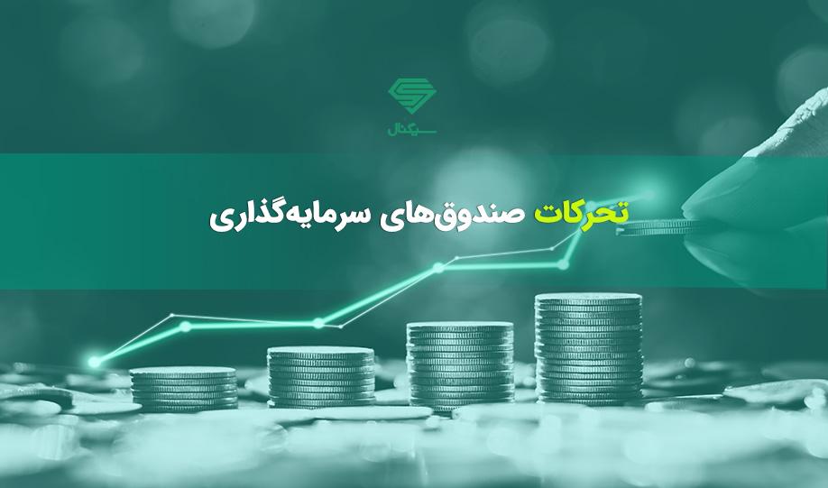 تحرکات صندوق های سرمایه گذاری در 27 مهر 99