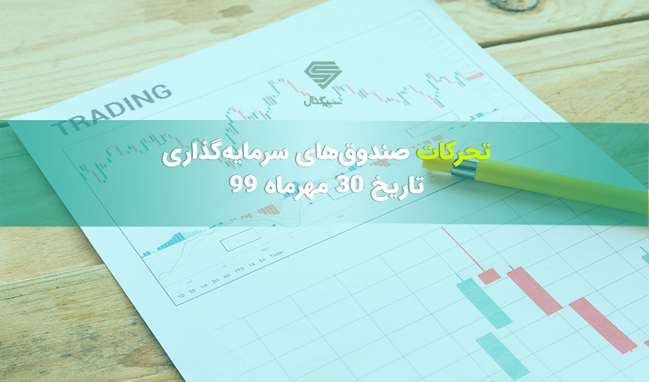 تحرکات صندوق های سرمایه گذاری در 30 مهرماه 99