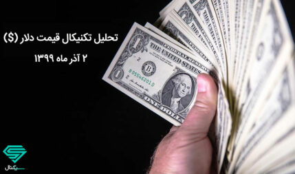 سطوح مهم و تعیین کننده قیمت دلار در میان مدت | 2 آذر ماه 1399