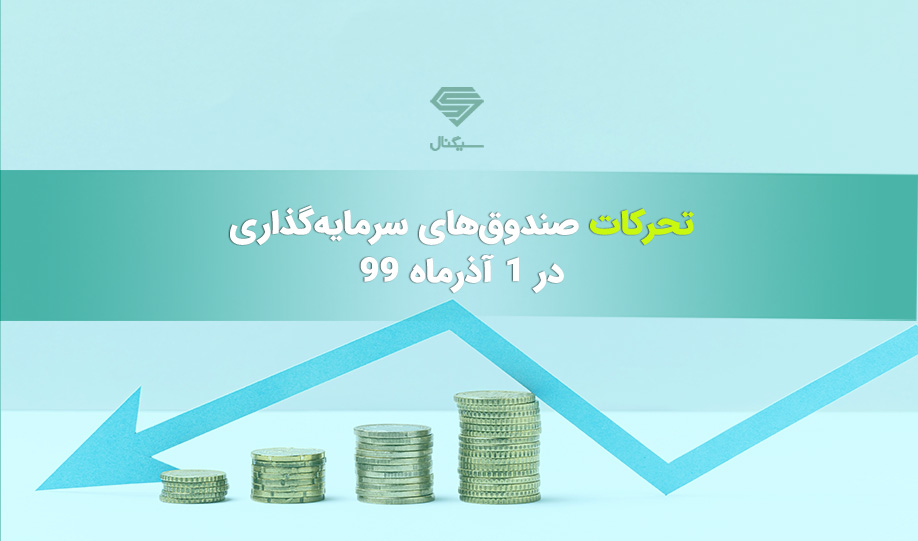 تحرکات صندوق های سرمایه گذاری در شنبه 1 آذر ماه 99
