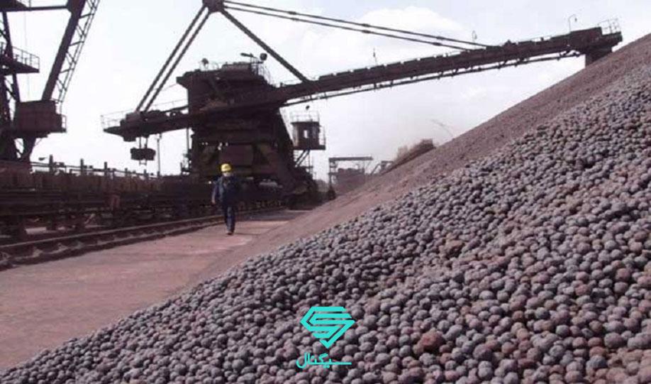 افزایش موجودی سنگ آهن بنادر چین و سیگنال کاهش قیمت  | 9 دی 99