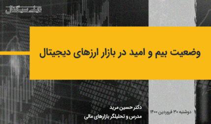 وضعیت بیم و امید در بازار ارزهای دیجیتال |  دیلیسیگنال 30 فروردین