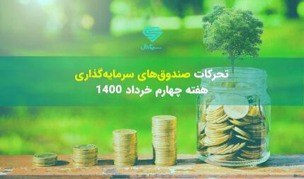 تحرکات صندوقهای سرمایهگذاری | هفته چهارم خرداد 1400