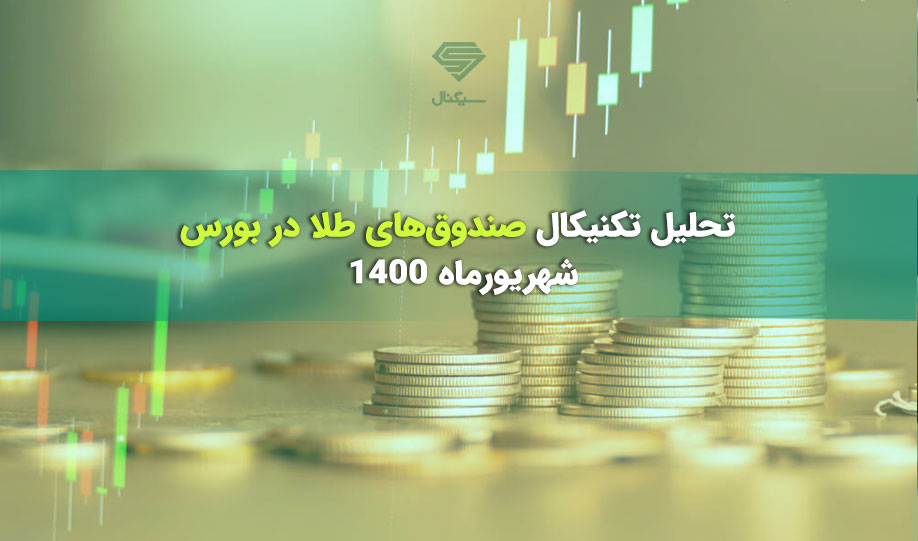 تحلیل تکنیکال صندوقهای طلا در بورس   17 شهریورماه 1400