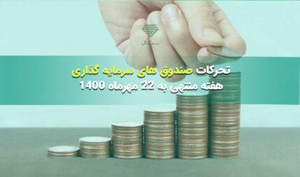 تحرکات صندوق های سرمایه گذاری | هفته منتهی به 22 مهرماه 1400
